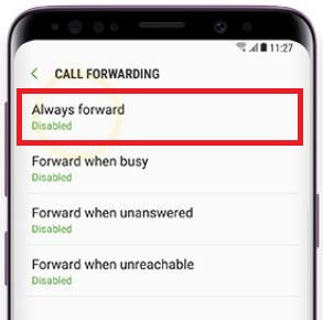 How to forward calls on Galaxy S9 and Galaxy S9 plus