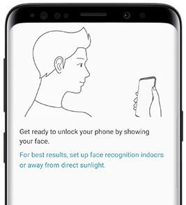 How to set up face recognition Galaxy S9 and Galaxy S9 plus