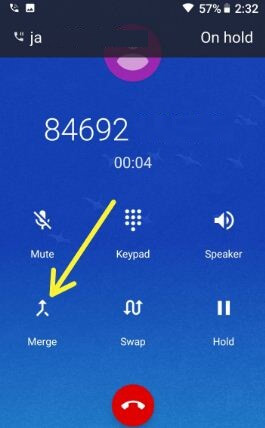 Samsung Galaxy S9 plus conference call