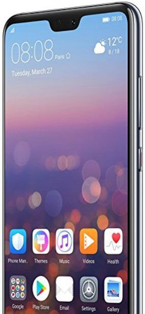 How to customize display settings on Huawei P20 Pro