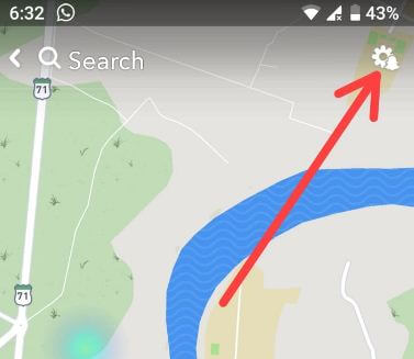 Turn off location on Snapchat android
