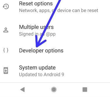 Best settings m debeloper options