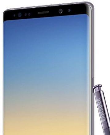 Samsung galaxy Note 8 smartphone in India 2018