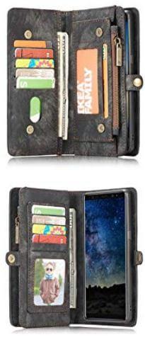 AKHVRS best galaxy note 9 wallet case