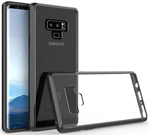 Galaxy Note 9 clear case Spritech