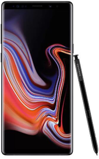 How to create apps folder on Galaxy Note 9