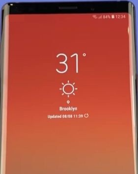 How to enable scene optimiser on galaxy Note 9