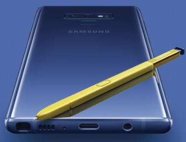 How to use screen of memo on Galaxy Note 9