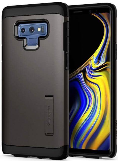 Spigen case for Galaxy Note 9 device