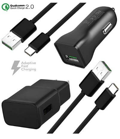 TruWire adaptive fast charger kit for Note 9