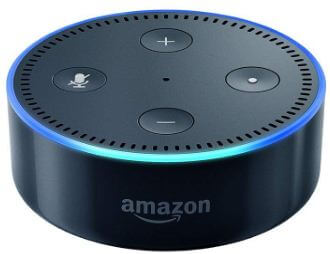 Amazon Echo dot smart speakers