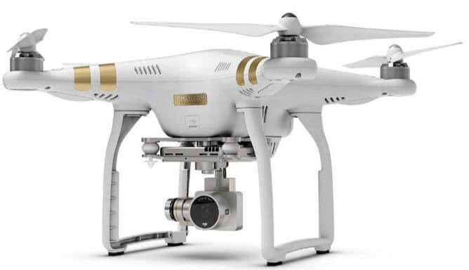 DJI phantom 3 professional drone in black Friday sale 2018
