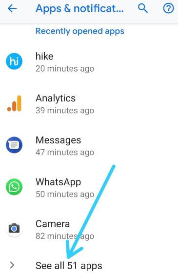 Disable apps notifications on Pixel 3 Pie