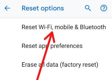 How to fix wifi problem after android 9 Pie update on Pixel