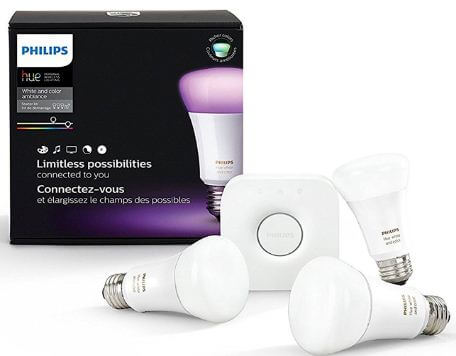 Google home smart LED bulb from Phillips