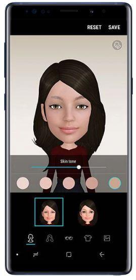 How to create AR Emoji on Galaxy Note 9 Oreo 8 1