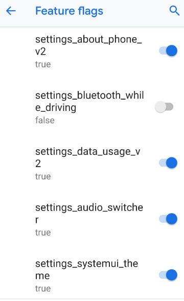 How to use feature flags in Android 9 Pie