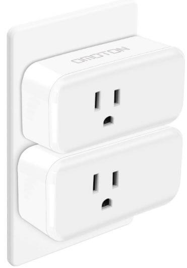 Omoton wifi smart plug for Google home accessories 2019