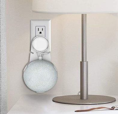Outlet wall mount stand hanger for home mini