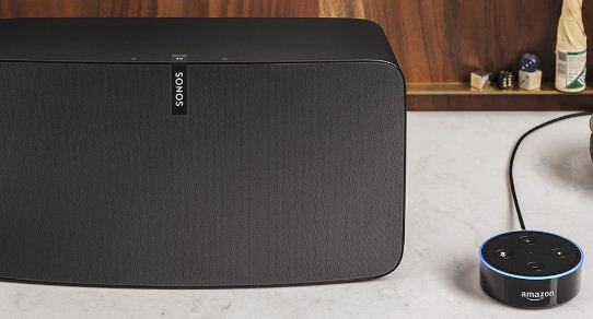 Wireless speaker for Amazon Echo from Sonos play