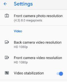 Cinematic 4K video recording on Pixel 3 XL Pie