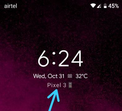 How to add a lock screen message on Pixel 3