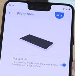 How to enable flip to Shhh on Pixel 3