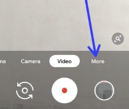 More settings camera Pixel 3 XL