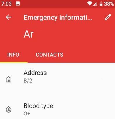 Put emergency info on Lock screen Pixel 3 Pie