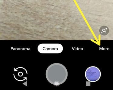 Use Pixel 3 camera playground mode