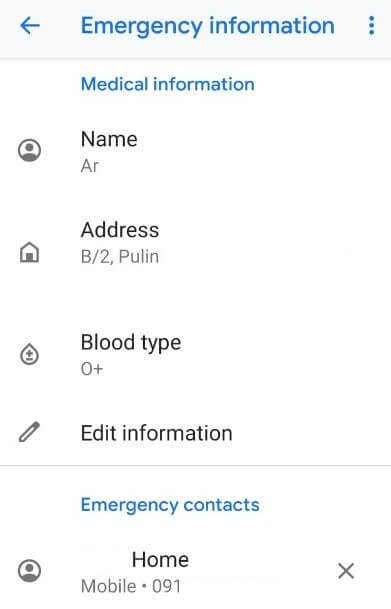 How to display name and number on Pixel 3 lock screen